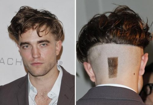 Robert Pattinson debuts odd new haircut