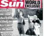 Photo of Queen Elizabeth II giving Nazi salute as child shocks Britain