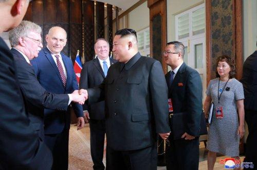 North Korea eschews anti-U.S. propaganda, mentions U.S. remains