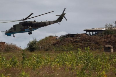 Azerbaijan says it accidentally downed Russian helicopter in Armenian airspace
