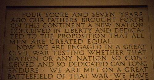 Interior Secretary: Gettysburg Address a reminder of sacrifice