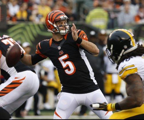 Cincinnati Bengals will rely on A.J. McCarron next Sunday