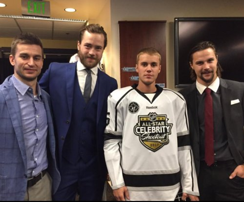 Watch: Justin Bieber obliterated by board check at NHL Celebrity All-Star Game