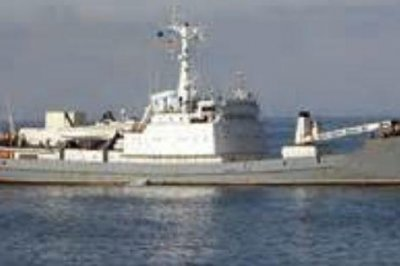 Russian spy ship sinks after Black Sea collision