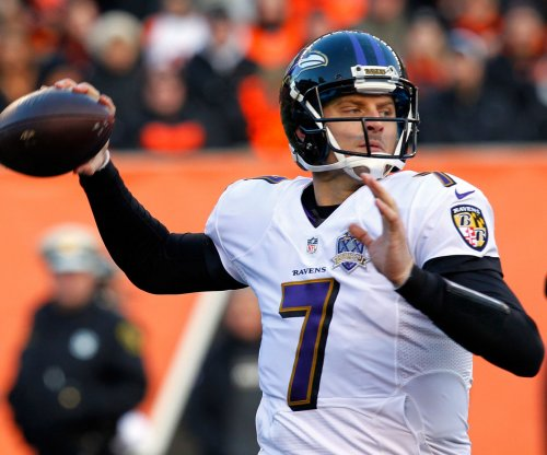 Baltimore Ravens coach John Harbaugh anxious to see Ryan Mallett vs. Washington Redskins