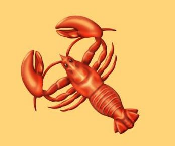 Lobster emoji being corrected to have right number of legs