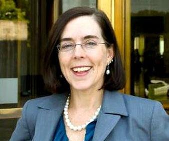 Brown sworn in as Oregon's 37th or 38th governor