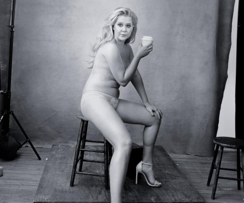 Amy Schumer, Serena Williams go nearly nude for Pirelli calendar