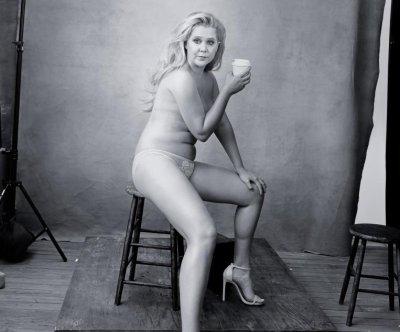 Amy Schumer, Serena Williams go nearly nude for Pirelli calendar