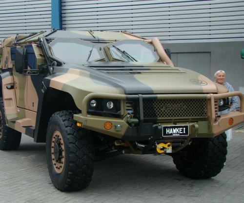 Thales Australia delivers Hawkei military vehicles