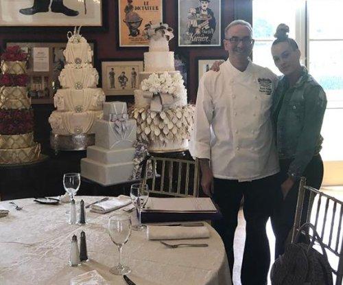 Peta Murgatroyd goes cake tasting ahead of wedding