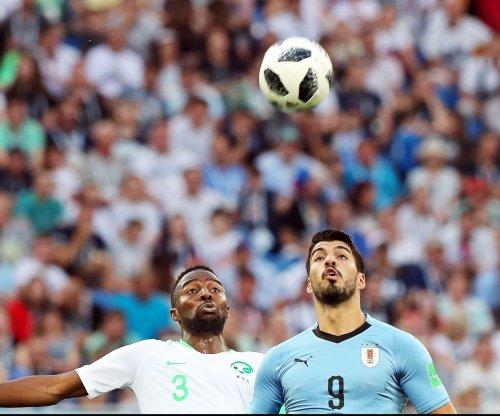 World Cup: Suarez, Uruguay edge Saudi Arabia