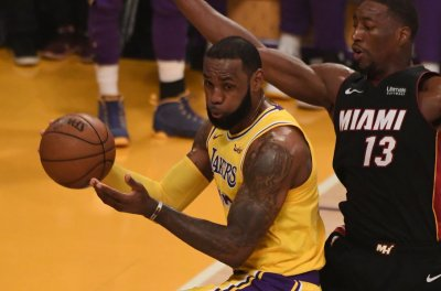LeBron, Lakers pay visit to reset Wizards