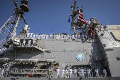 USS Philippine Sea ends 10-month deployment