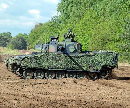 Formula One technology adapted for armored vehicles