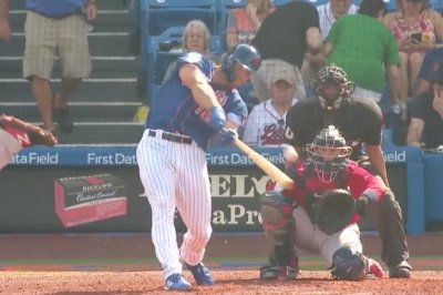 Mets' Tim Tebow collects first hits of 2019 spring training