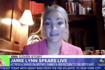 Jamie Lynn Spears: Britney 'trying to make the best' of 'challenging' year