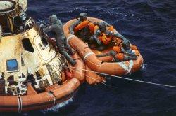 On This Day: Apollo 11 astronauts splash down