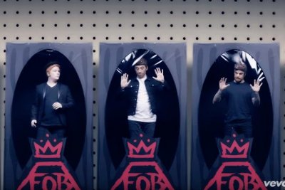 Fall Out Boy, Demi Lovato spoof 'N Sync in new video
