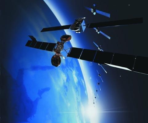 NATO contracts for satellite services