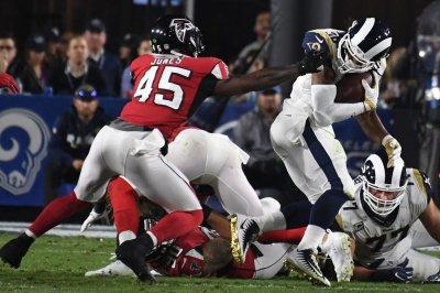 Falcons LB Jones (foot) back at practice