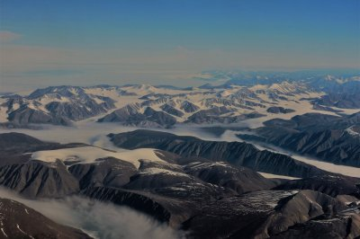 Rising air temperatures driving climate change in the Arctic