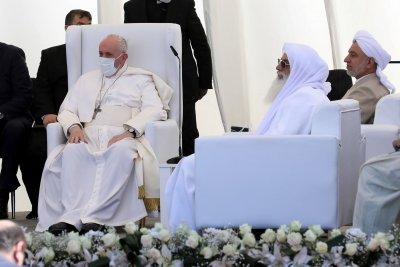 Pope Francis visits Abraham's birthplace on 2nd day in Iraq