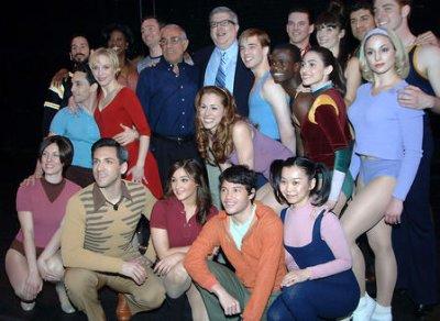 Broadway lights to be dimmed for Hamlisch