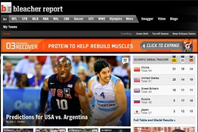Time Warner unit acquires Bleacher Report