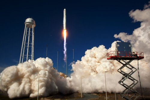 Orbital Science Corp. launches for NASA