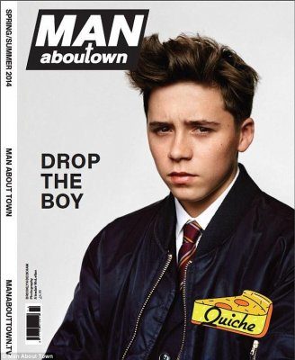Brooklyn Beckham magazine cover draws controversy [PHOTO]