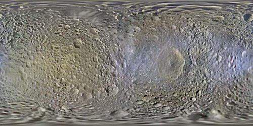 Saturn's moons mapped in greater detail than ever before