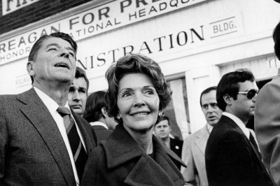 From struggling actress to national star: 20 pictures of Nancy Reagan