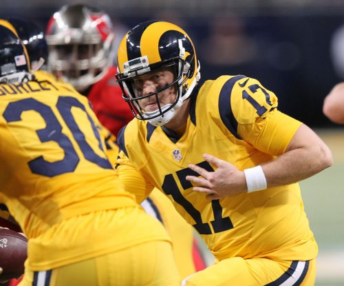 Los Angeles Rams QB Case Keenum 'clearly ahead' of Jared Goff