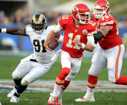 Inconsistent Alex Smith, Kansas City Chiefs look to rebound vs. New York Jets