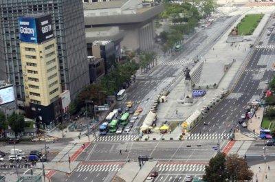 South Korea conducts civil defense drill to prepare for enemy attack