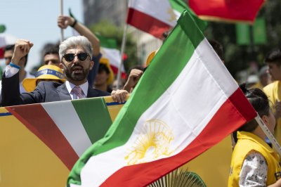 Iranian Americans call for regime change, sanctions in D.C. protest