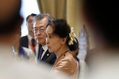 Aung San Suu Kyi endorses Seoul's North Korea policy