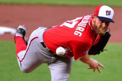 Nationals' Strasburg sharp in start after bus ride to Baltimore