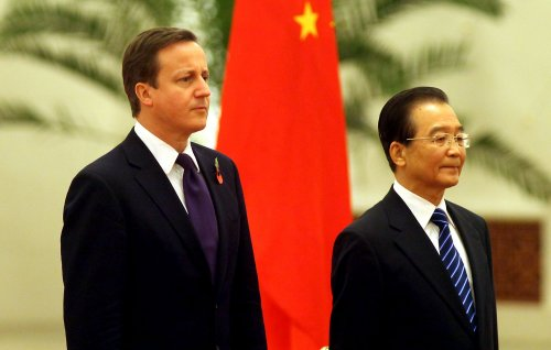 Human rights cloud Cameron's trip to China