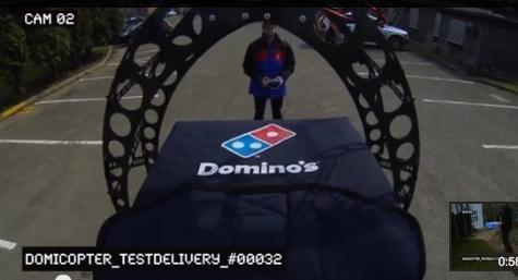 Domino's uses pizza drone - UPI.com