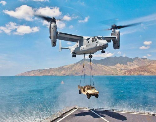 U.S. deploying V-22 squadron to Japan