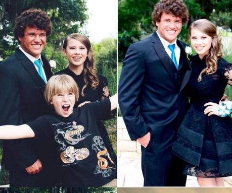 Bindi Irwin posts prom photo with Chandler Powell