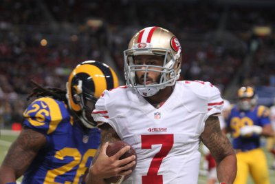 Colin Kaepernick to begin season as San Francisco 49ers' No. 2 QB