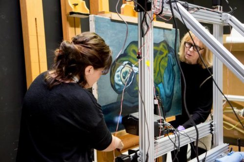 X-rays reveal someone else's painting under Picasso masterpiece