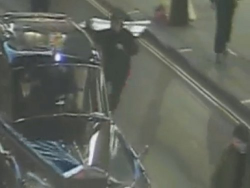 Police release film of attack on royal car