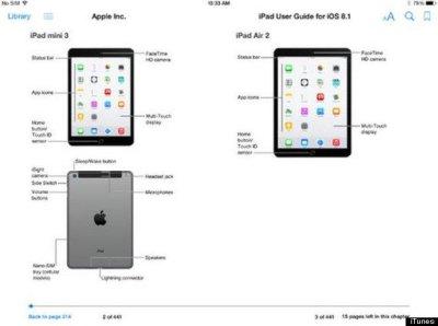 Apple accidentally reveals iPad Air 2 and mini iPad 3 early