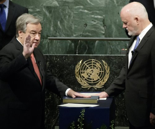 Antonio Guterres sworn-in as ninth U.N. secretary general