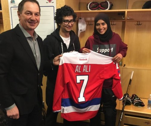 Watch: Washington Capitals workout Arab female hockey star
