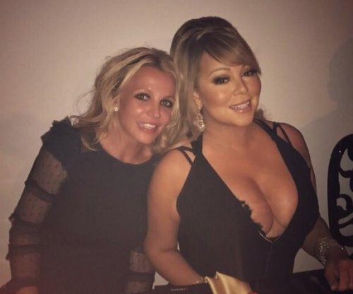 Britney Spears shares photo on Twitter of meeting Mariah Carey
